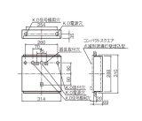 FK21712パナソニック 誘導灯用取付ボックス(B級点滅形)