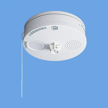 警報音・音声警報機能付 パナソニック ねつ当番 電池式 SHK38155 熱感知器 薄型定温式 『10個セット』 移報接点なし 住宅用火災警報機
