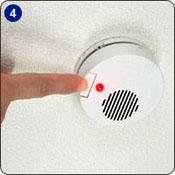 【4】ボタンを押して動作確認をします。